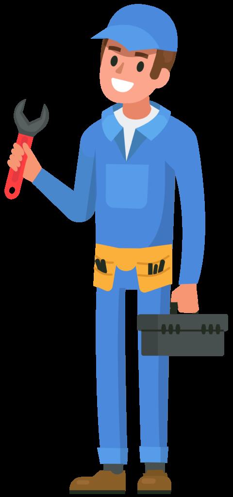 Blikkenslager illustration